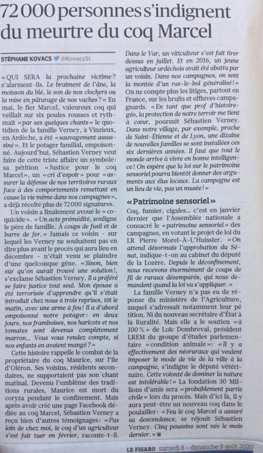 Le Figaro (08/08/2020)