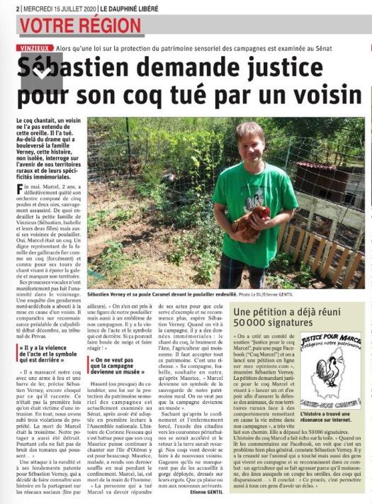 Le Dauphné Libéré (14/07)